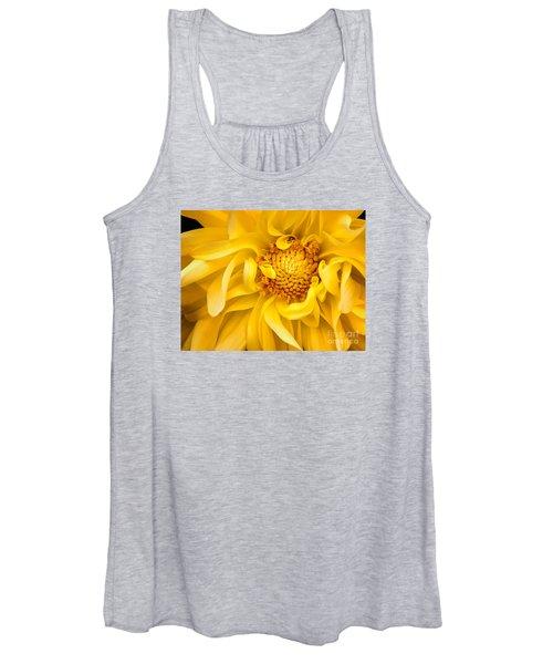 Sunflower Yellow Women's Tank Top