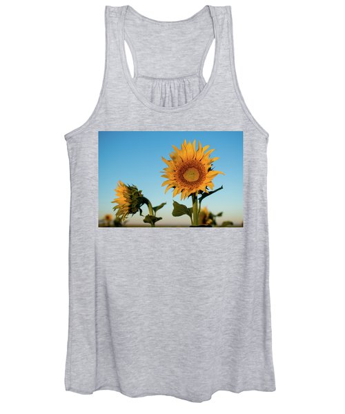 Sunflowers At Sunrise 1 Women's Tank Top