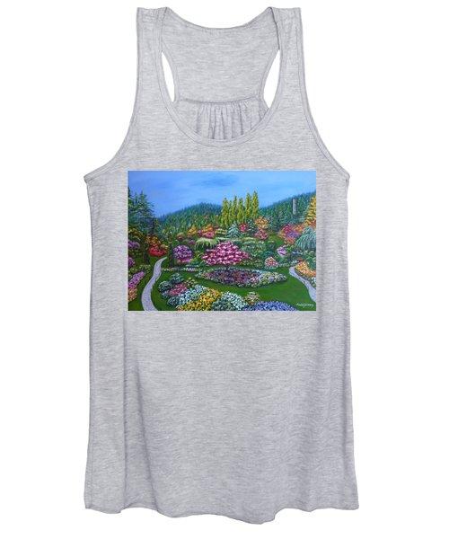 Sunken Garden Women's Tank Top