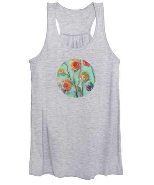 Sunlit Garden Women's Tank Top