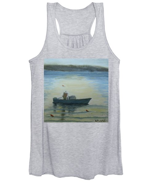 Sunny Morning And Lobster Women's Tank Top
