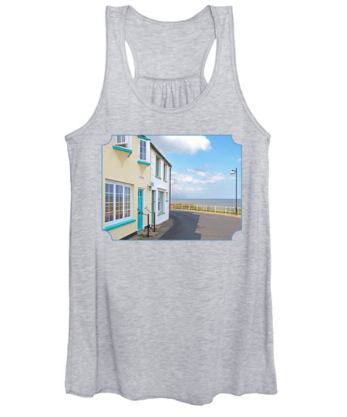 Sunny Outlook - Southwold Seafront Women's Tank Top