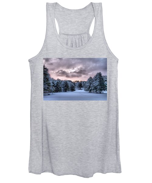 Sunrise After The Snow  Women's Tank Top