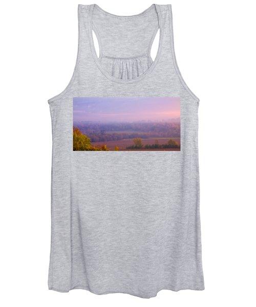Sunrise Over Mid Valley 2 Women's Tank Top