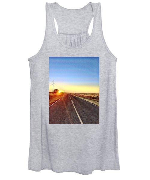 Sunrise Road Women's Tank Top