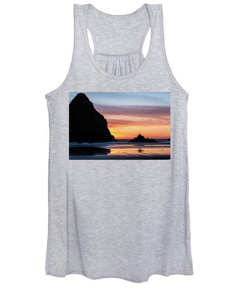 Sunset At Whalehead Beach Women's Tank Top