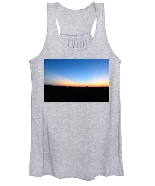Sunset Blue Women's Tank Top