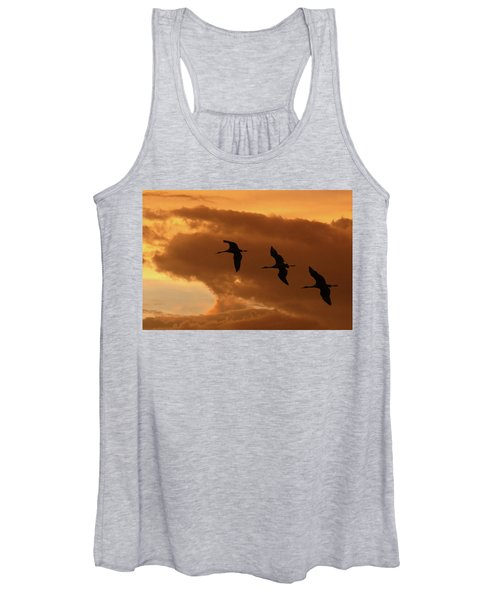 Sunset Flight Women's Tank Top