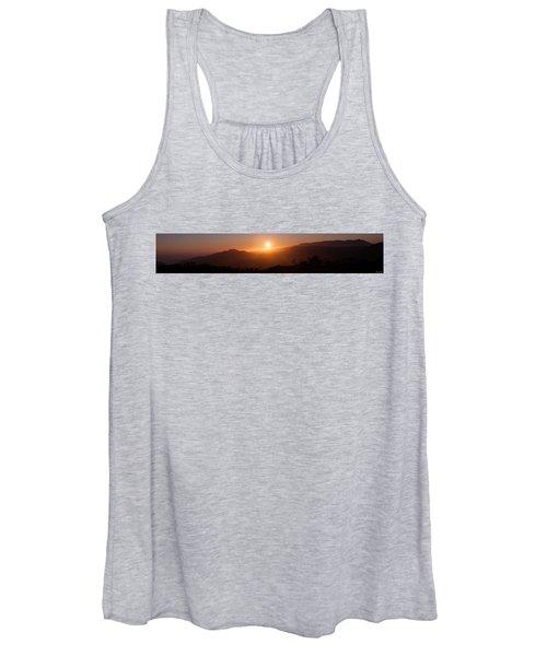 Sunset From Marine Headlands San Francisco Women's Tank Top