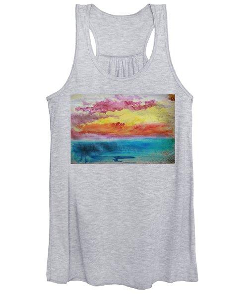 Sunset Lagoon Women's Tank Top