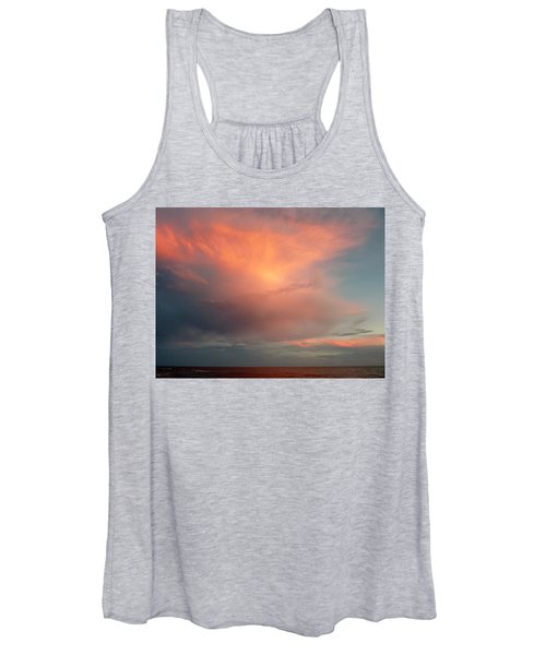 Sunset Moonrise Women's Tank Top