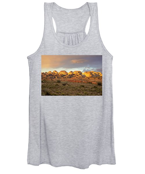 Sunset On Capitol Reef Women's Tank Top