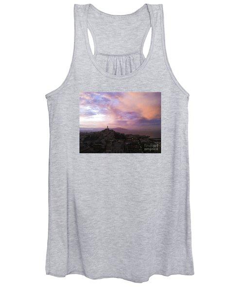 Sunset On The Bay Women's Tank Top