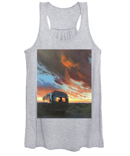 Sunset On The Mesa Women's Tank Top