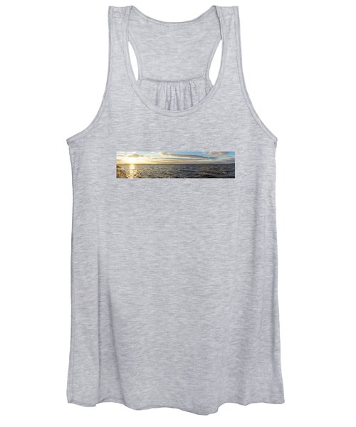 Sunset Over Cape Fear River Women's Tank Top
