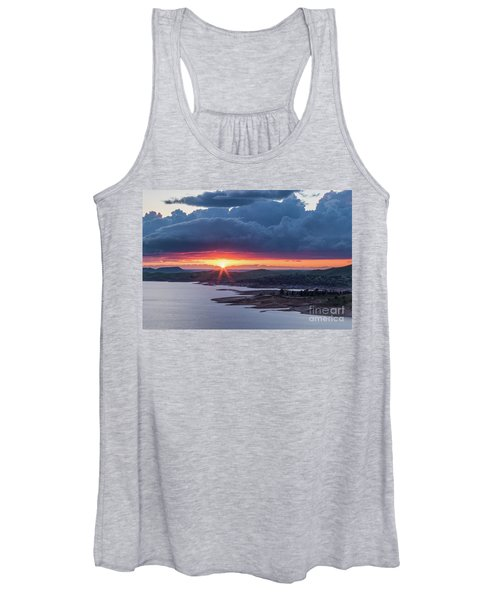 Sunset Over Millerton Lake  Women's Tank Top