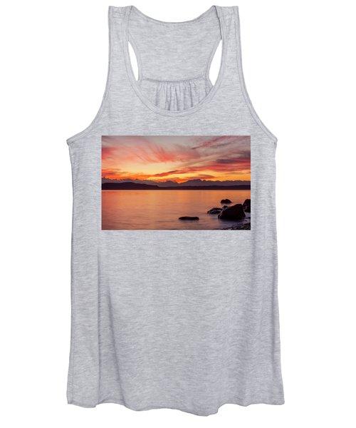 Sunset Puget Sound Women's Tank Top