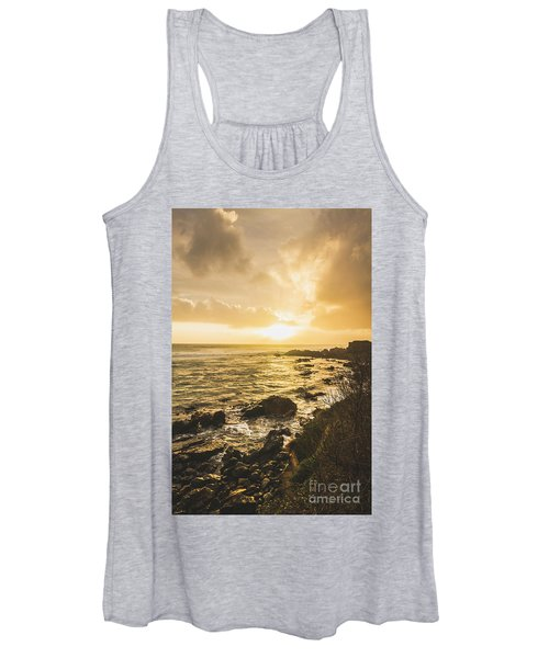 Sunset Seascape Women's Tank Top