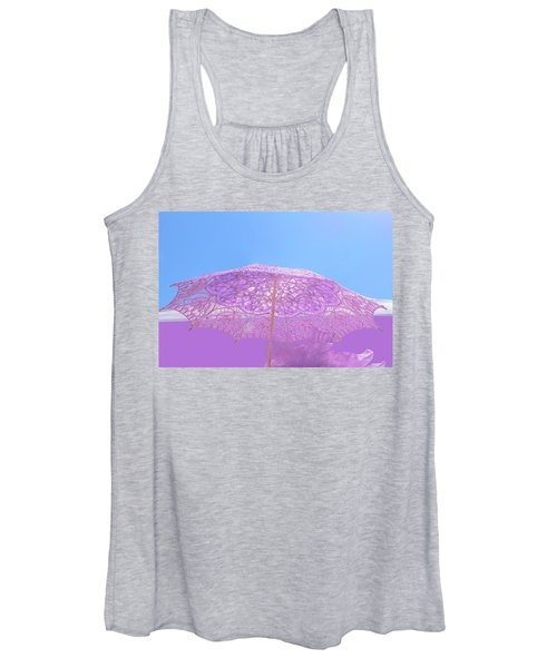 Sunshade In Pastel Color Women's Tank Top
