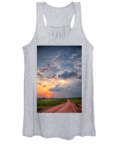 Sunshine And Storm Clouds Women's Tank Top