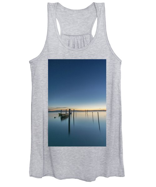 Sure Is Quiet Our Here Women's Tank Top