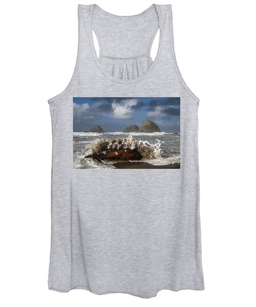Surf And Three Arch Rocks Women's Tank Top