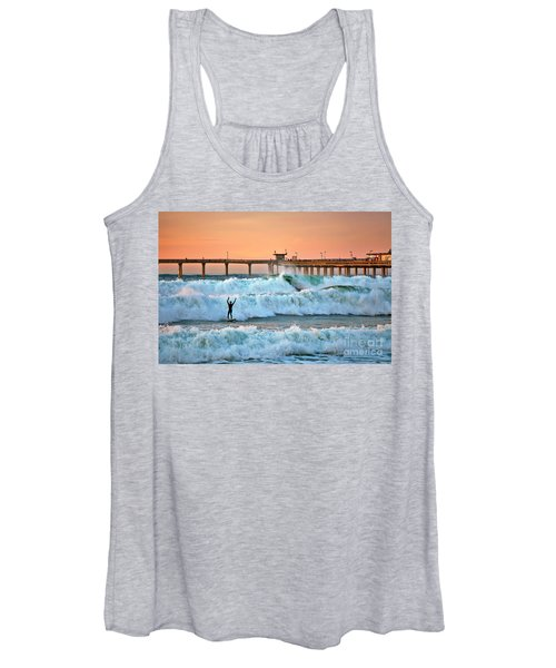 Surfer Celebration Women's Tank Top