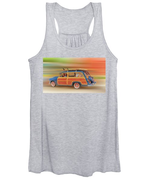 Surf's Up Women's Tank Top