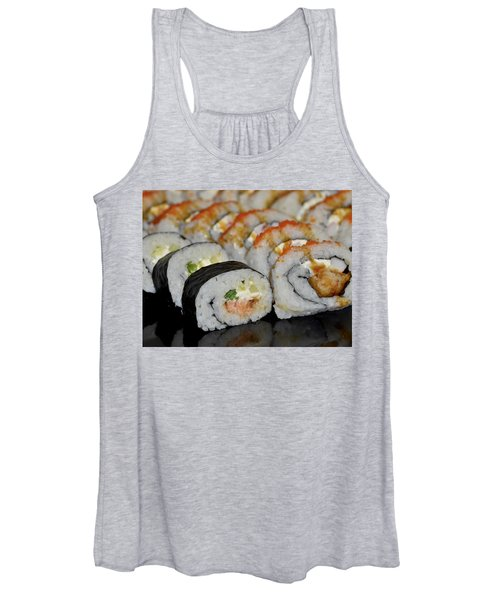 Sushi Rolls From Home Women's Tank Top