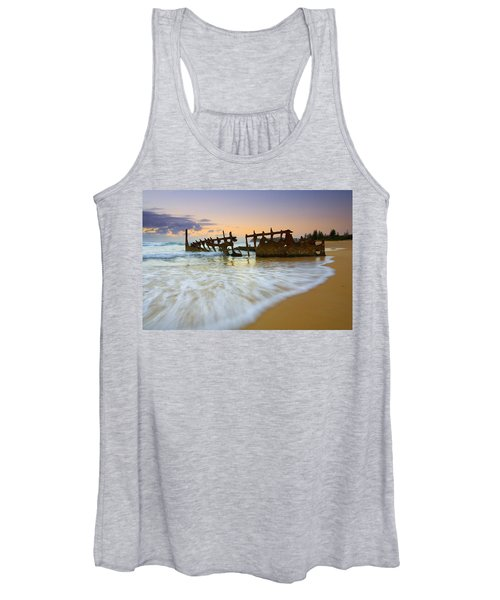 Swallowed By The Tides Women's Tank Top