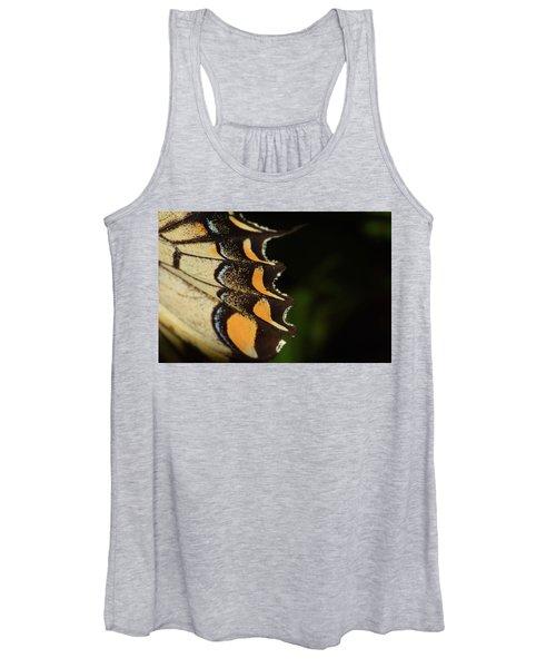 Swallowtail Butterfly Wing Women's Tank Top