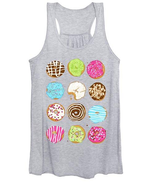 Sweet Donuts Women's Tank Top