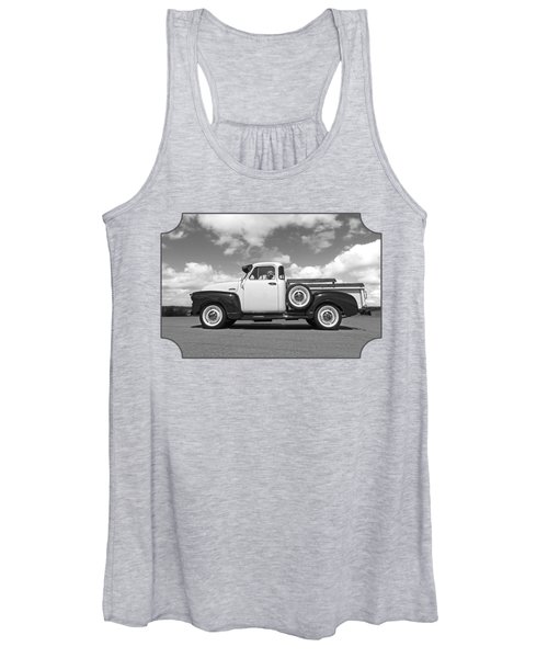 Take Me With You - Black And White Women's Tank Top