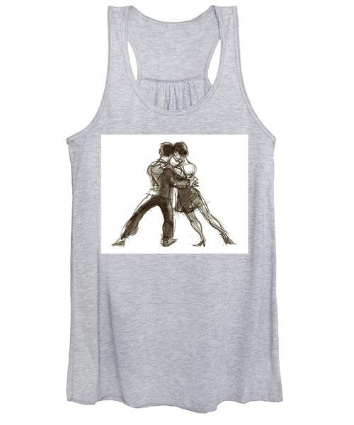 Tango Triangle Women's Tank Top