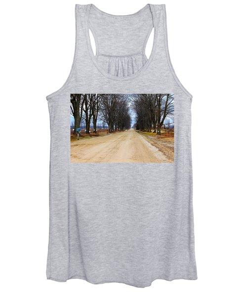 Tap Into Spring Women's Tank Top