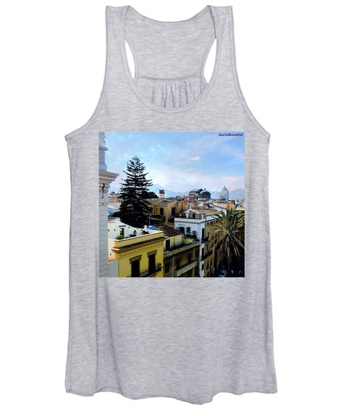 #tbt Family Trip To #sicily March 2011 Women's Tank Top