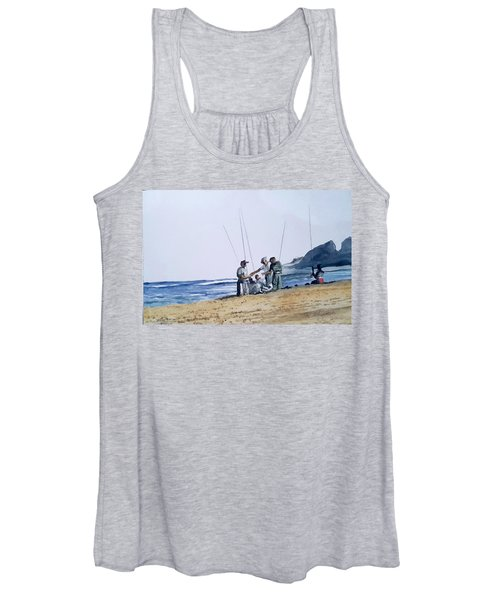 Teach Them To Fish Women's Tank Top