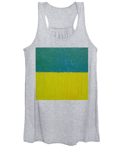 Teal Olive Women's Tank Top