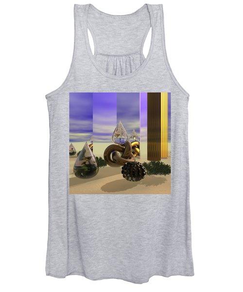 Tears In The Desert Women's Tank Top