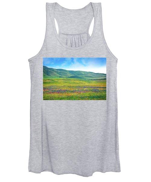 Tejon Ranch Wildflowers Women's Tank Top
