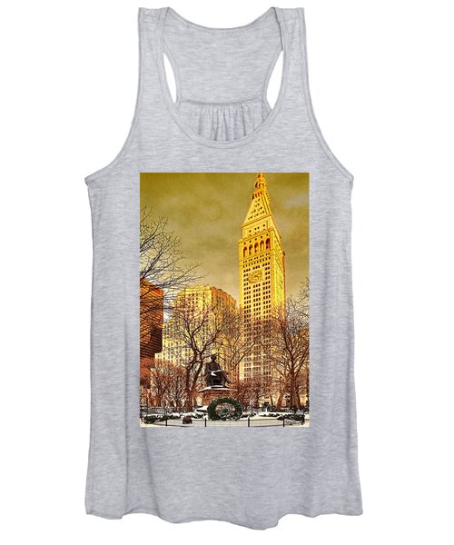 Ten Past Four At Madison Square Park Women's Tank Top