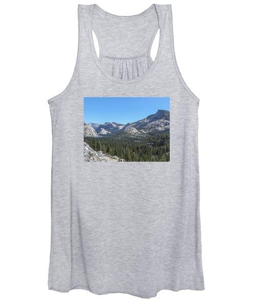 Tenaya Lake And Surrounding Mountains Yosemite National Park Women's Tank Top
