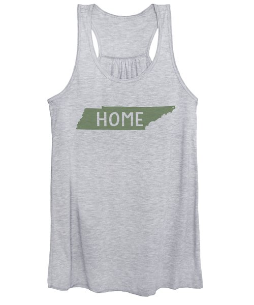 Tennessee Home Green Women's Tank Top