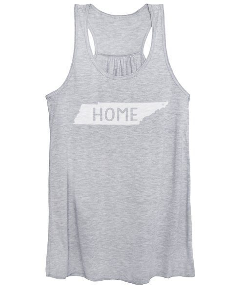 Tennessee Home White Women's Tank Top