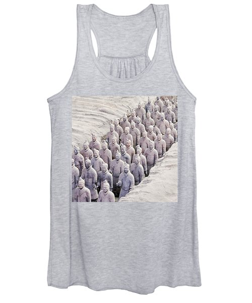 Terracotta Warriors Women's Tank Top