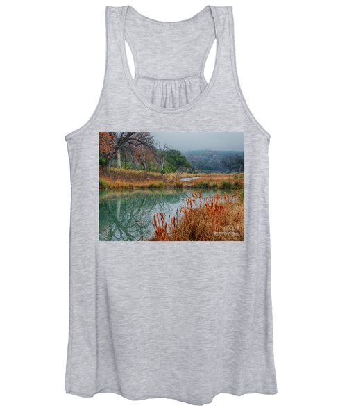 Texas Hill County Color Women's Tank Top