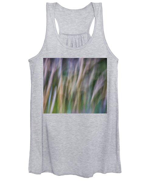 Textured Abstract Women's Tank Top