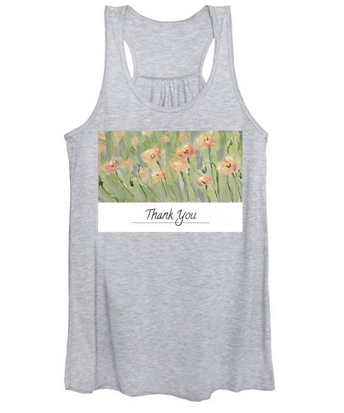 Thank You Women's Tank Top