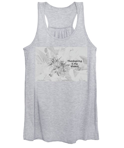 Thanks Giving Women's Tank Top