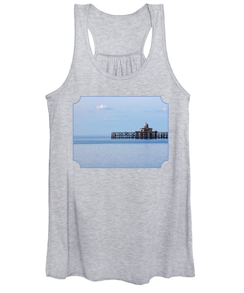 The Abandoned Pier Women's Tank Top